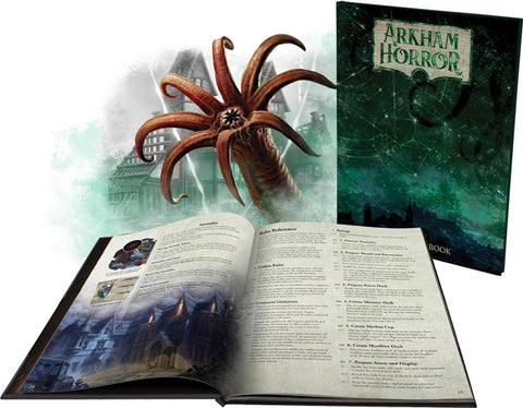Arkham Horror: The Board Game (3rd Ed.) - Rulebook