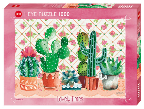 Jigsaw Puzzle: HEYE - Cactus Family (1000 Pieces)