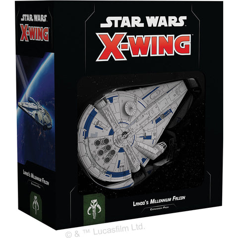 Star Wars - X-Wing 2nd Ed: Lando's Millennium Falcon (Scum & Villainy)