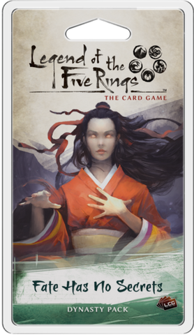L5R LCG: Expansion 05 - Fate Has No Secrets