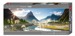 Jigsaw Puzzle: HEYE - Milford Sound (1000 Pieces)