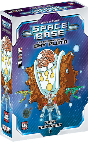 Space Base - The Emergence of Shy Pluto