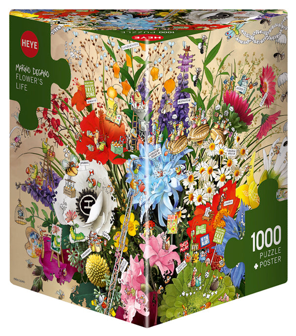 Jigsaw Puzzle: HEYE - Flower's Life (1000 Pieces)