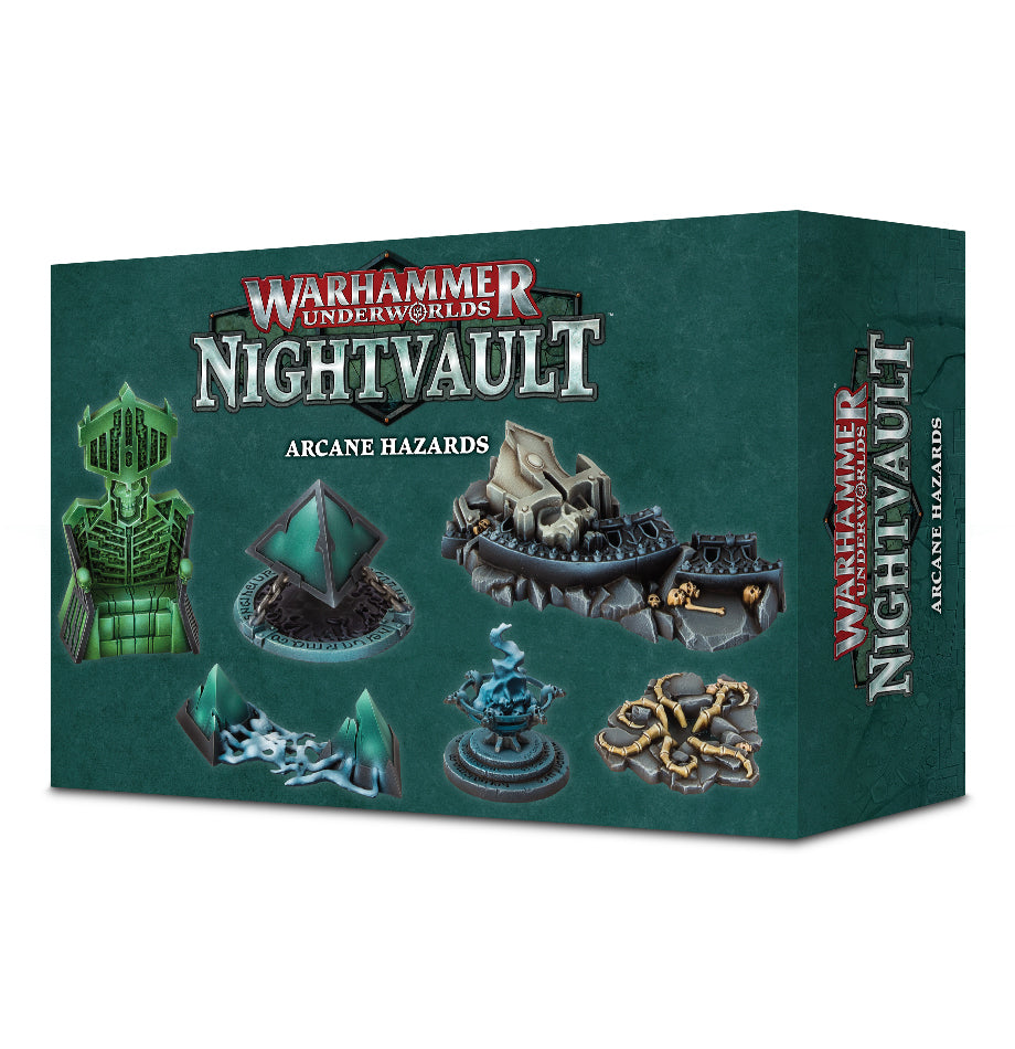 WH Underworlds: Nightvault - Arcane Hazards