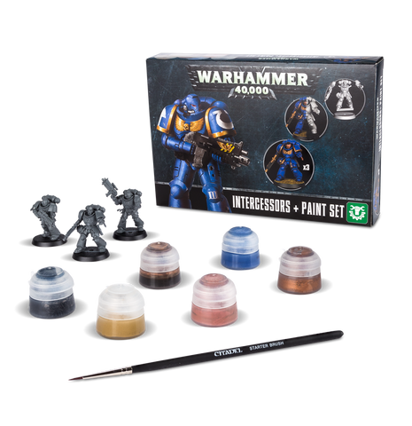 Warhammer Age of Sigmar: Intercessors & Paint Set