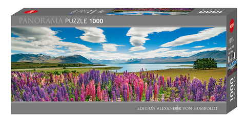 Jigsaw Puzzle: HEYE - AvH Lake Tekapo (1000 Pieces)