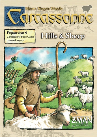 Carcassonne: Exp 09 - Hills & Sheep