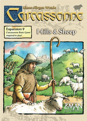 Carcassonne - Exp 09: Hills & Sheep