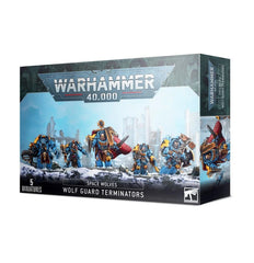 WH 40K: Space Wolves - Wolf Guard Terminators (9th Ed.)