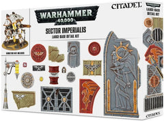 WH 40K: Sector Imperialis - Large Base Detail Kit