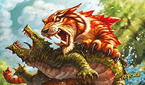 KeyForge - Playmat - Mighty Tiger