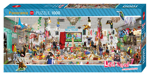 Jigsaw Puzzle: HEYE - Life! Style! New Year's Eve (1000 Pieces)