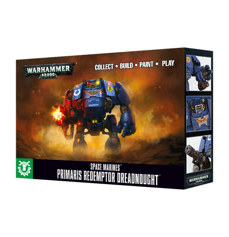 Warhammer 40K: Space Marines - Primaris Redemptor Dreadnought (Easy to Build)