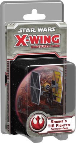 Star Wars: X-Wing - Sabine's TIE Fighter (Rebel)