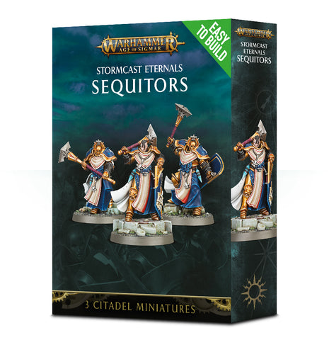 WH AoS: Stormcast Eternals - Sequitors (Easy to Build)