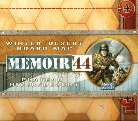 Memoir '44 - Winter / Desert Board Map
