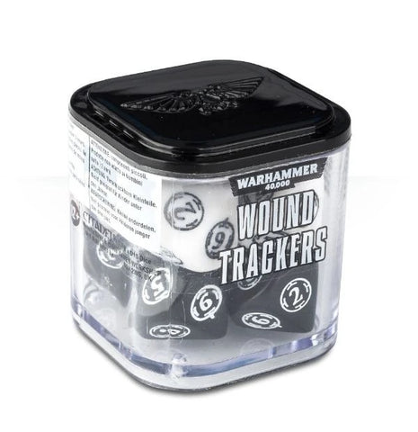 Warhammer 40K: Wound Trackers - White and Black