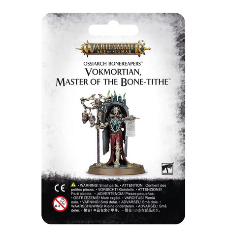 Warhammer Age of Sigmar: Ossiarch Bonereapers - Vokmortian Master ot the Bone-Tithe