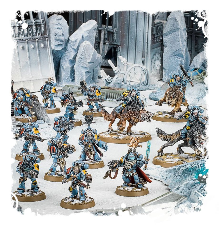 WH 40K: Space Wolves  - Start Collecting!