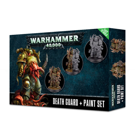 Warhammer 40K: Death Guard + Paint Set