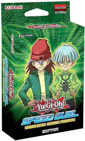 Yu-Gi-Oh! TCG: Speed Duel Starter Deck - Ultimate Predators (8x Display)