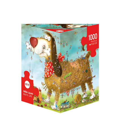Jigsaw Puzzle: HEYE - Degano Dog's Life (1000 Pieces)