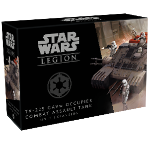 Star Wars: Legion - Galactic Empire - TX-225 GAVw Occupier Combat Assault Tank