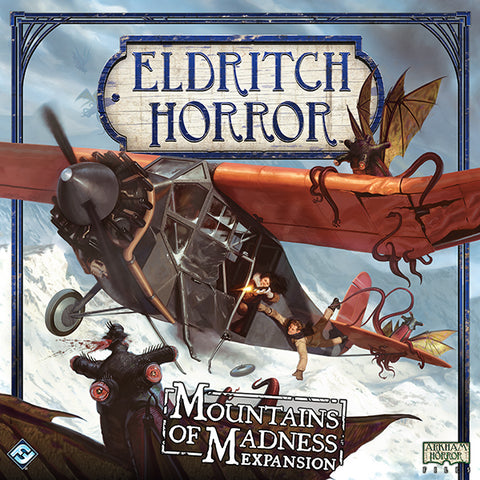 Eldritch Horror - Exp 02: The Mountains of Madness