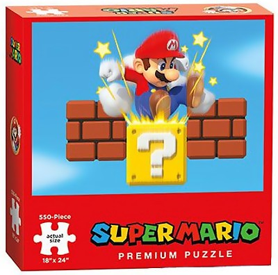 Jigsaw Puzzle: The OP - Super Mario Assorted (550 Pieces)