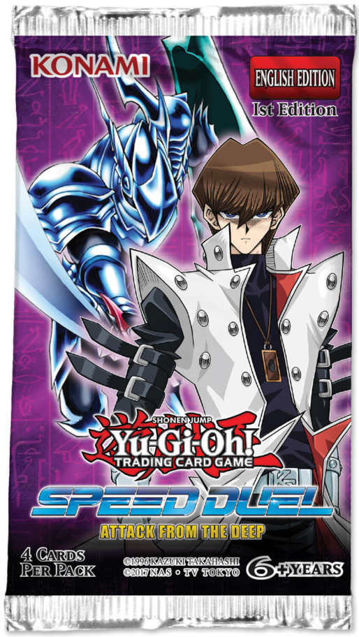 Yu-Gi-Oh! TCG: Speed Duel Attack from the Deep Booster (36x Display)