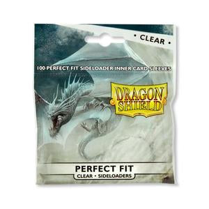 Sleeves: Dragon Shield - Perfect Fit Standard - Sideloaders - Clear (x100)