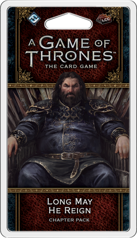 AGOT LCG (2nd Ed): Pack 50 - Long May He Reign