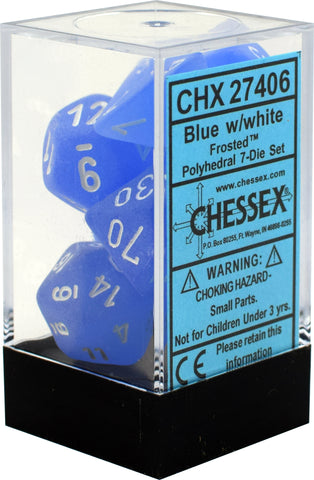 Chessex Dice: Frosted - Poly Die Set (7 dice)
