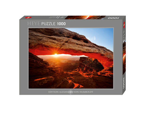 Jigsaw Puzzle: Mesa Arch (1000 Pieces)