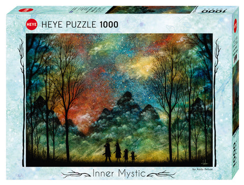 Jigsaw Puzzle: HEYE - Inner Mystic Wondrous Journey (1000 Pieces)