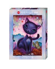 Jigsaw Puzzle: HEYE - Black Kitty (1000 Pieces)