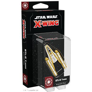 Star Wars: X-Wing (2nd Ed) - Galactic Republic - BTL-B Y-Wing