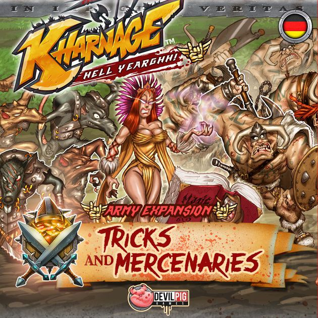 Kharnage - Tricks & Mercenaries