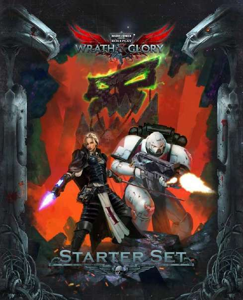 Warhammer 40K RPG: Wrath & Glory Starter Kit