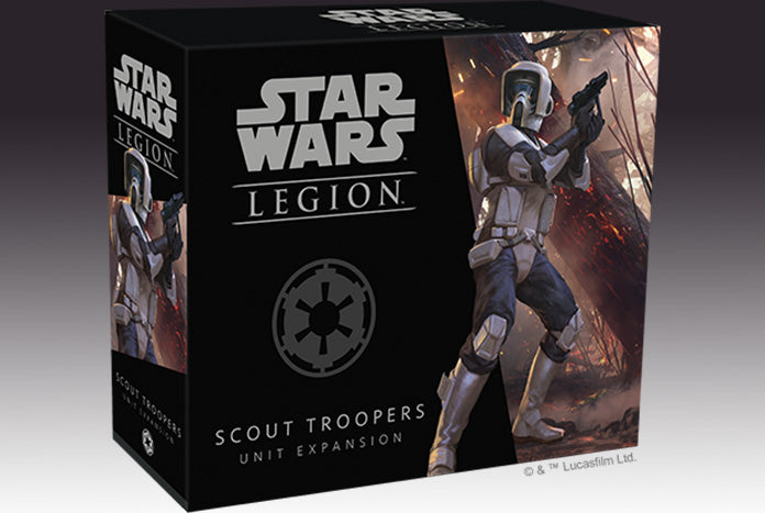 Star Wars: Legion - Galactic Empire - Scout Troopers