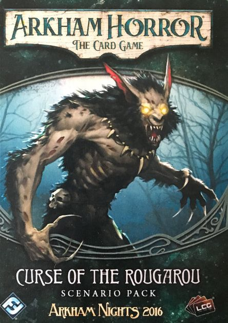AH LCG: Scenario Pack 01 - Curse of the Rougarou