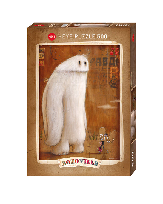 Jigsaw Puzzle: HEYE - Sit! (500 Pieces)