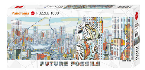 Jigsaw Puzzle: HEYE - Future Fossils Aquapolis (1000 Pieces)