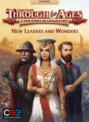 Through The Ages: A New Story of Civilization - New Leaders & Wonders