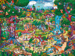 Jigsaw Puzzle: HEYE - Wonderwoods (1500 Pieces)