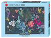 Jigsaw Puzzle: HEYE - Turnowsky Birds & Flowers (1000 Pieces)