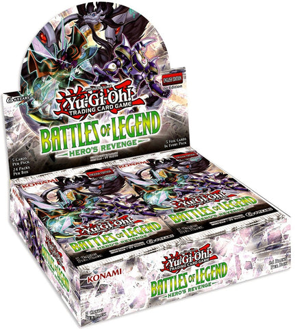 Yu-Gi-Oh! TCG: Battles of Legend Hero's Revenge (24x Display)