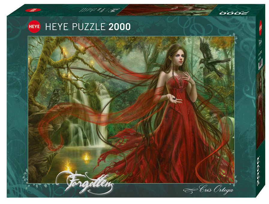 Jigsaw Puzzle: HEYE - New Red (2000 Pieces)