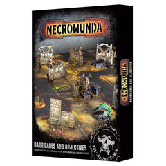 Necromunda - Barricades and Objectives