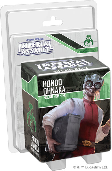 Star Wars: Imperial Assault - Hondo Ohnaka (Villain)